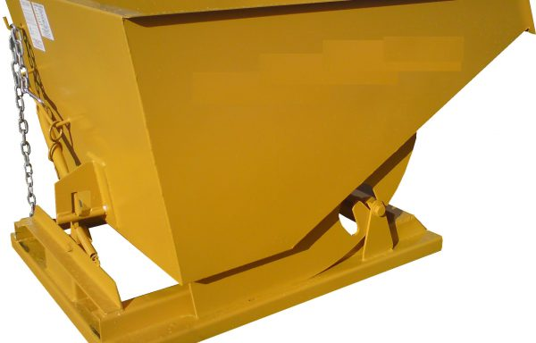 1000Ltr Fork Lift Tipping Skip